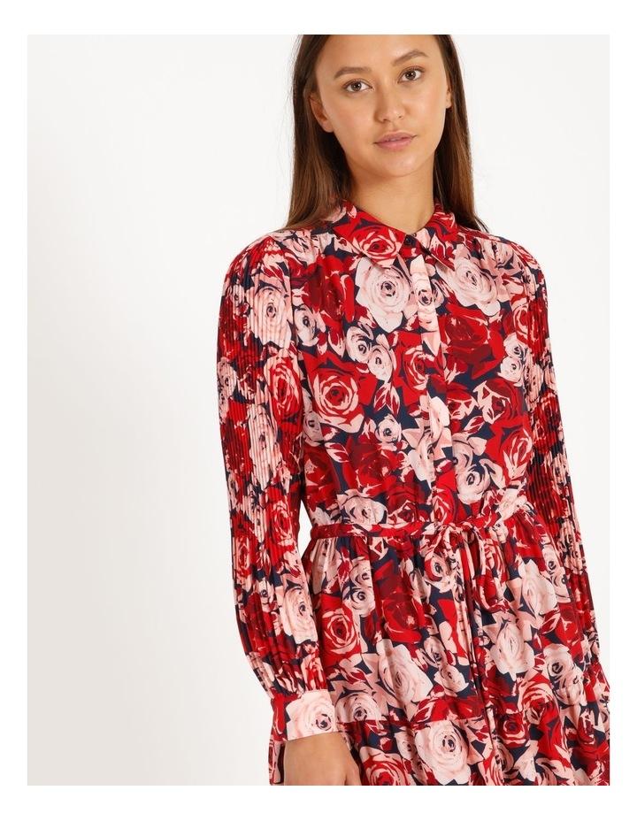 Statement Tiered Shirt Dress image 3