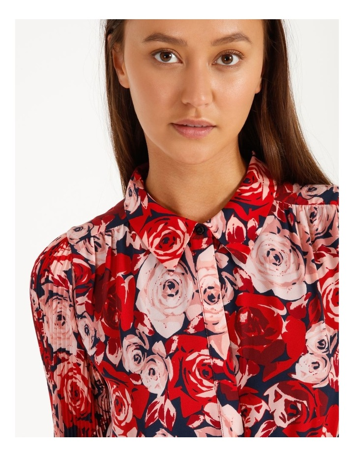 Statement Tiered Shirt Dress image 6