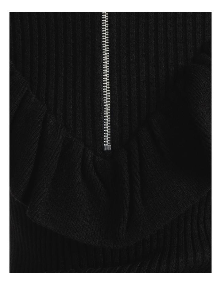 Ruffle Blousson Sleeve Knit Dress image 6