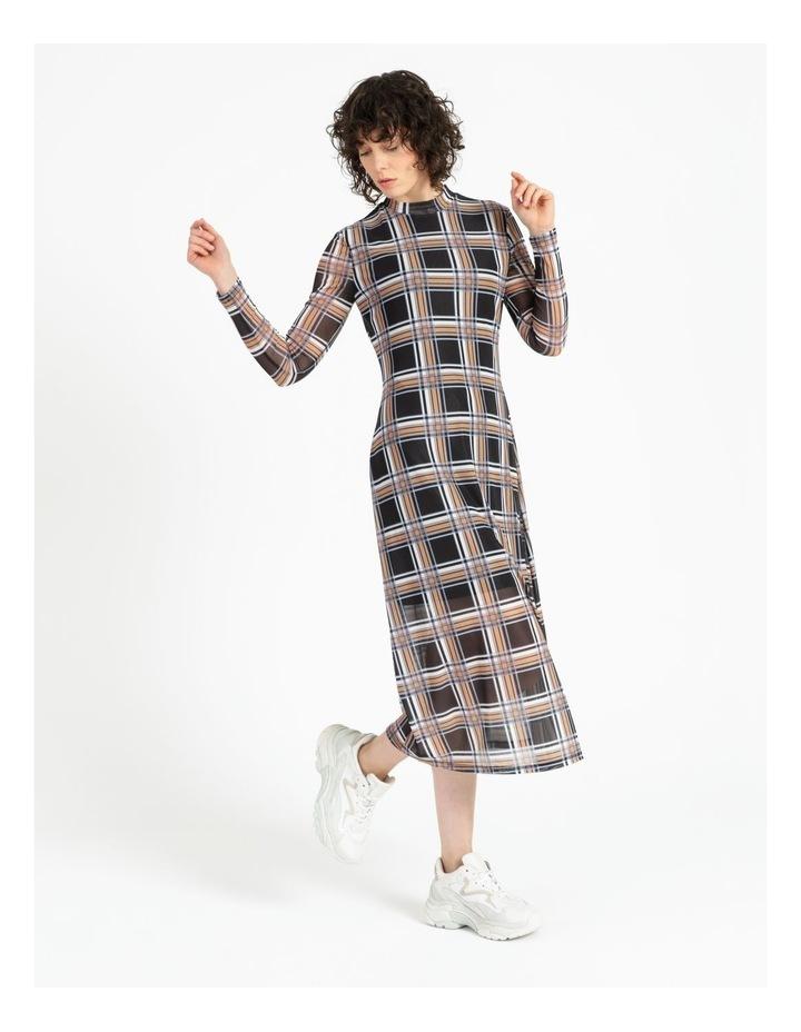 Midi Mesh Dress image 3
