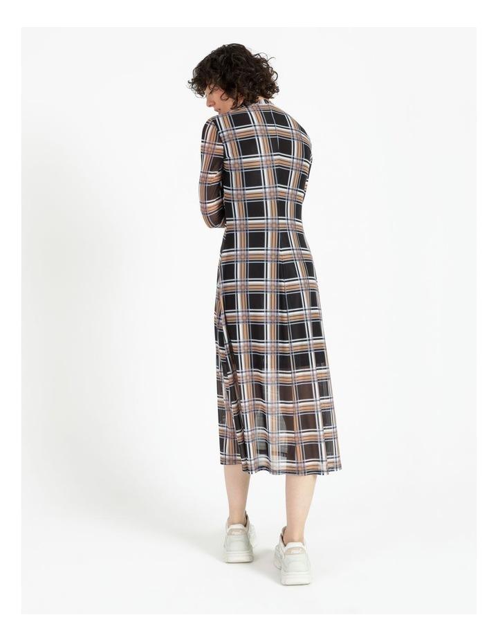 Midi Mesh Dress image 4