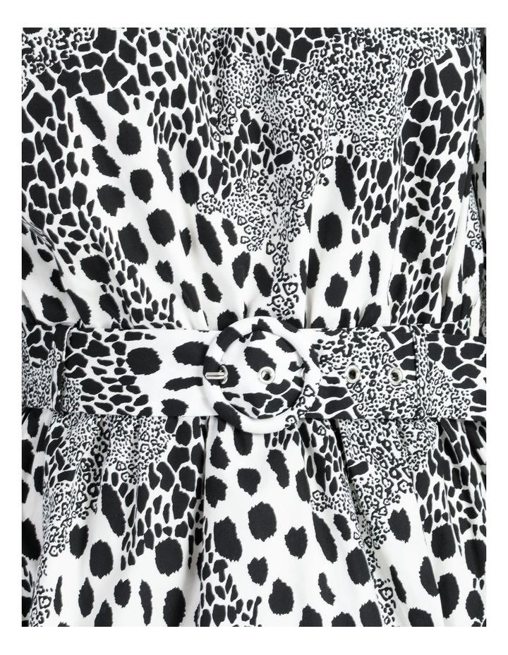 Puff Sleeve Mini Dress image 6