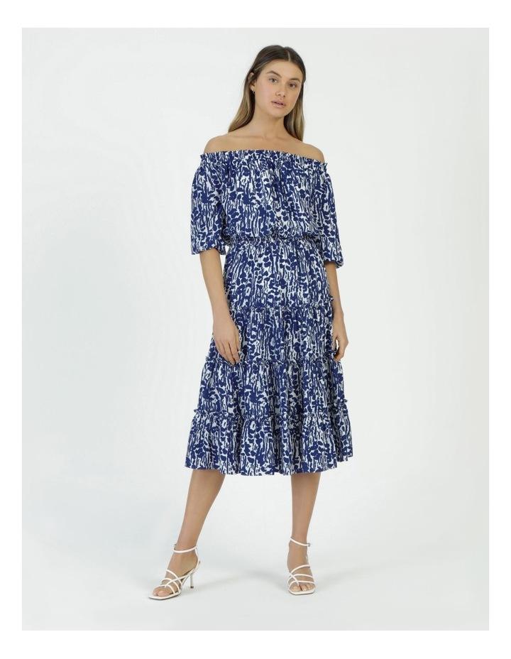 Off The Shoulder Midi Dress image 1