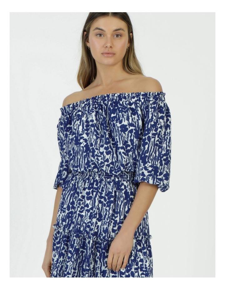 Off The Shoulder Midi Dress image 2