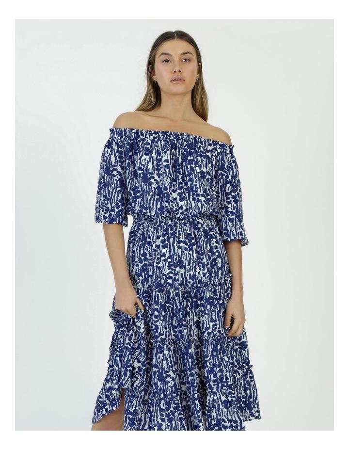 Off The Shoulder Midi Dress image 3