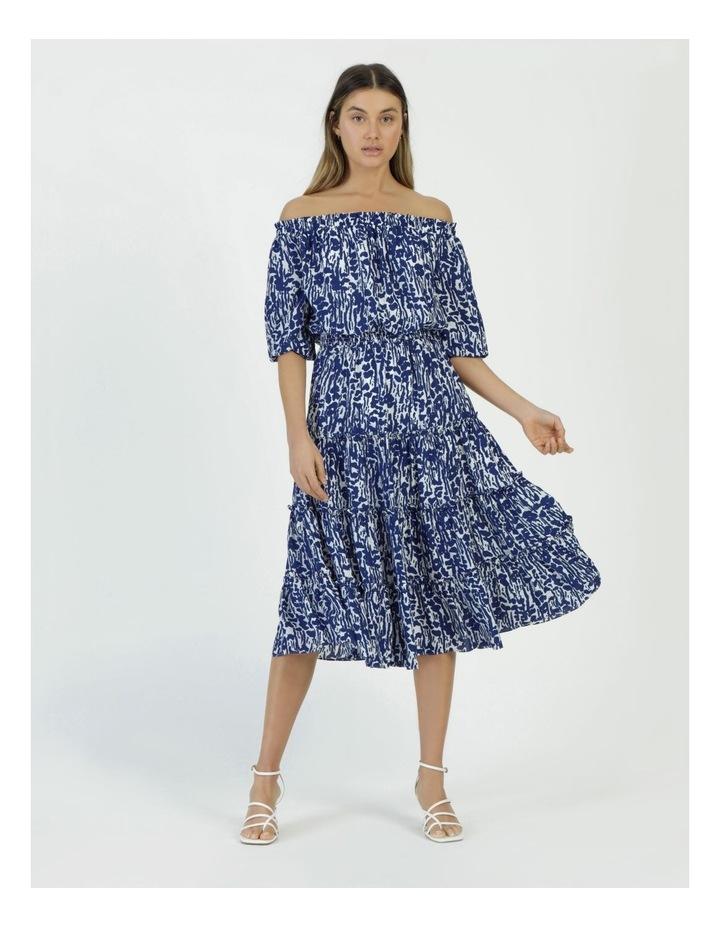 Off The Shoulder Midi Dress image 4