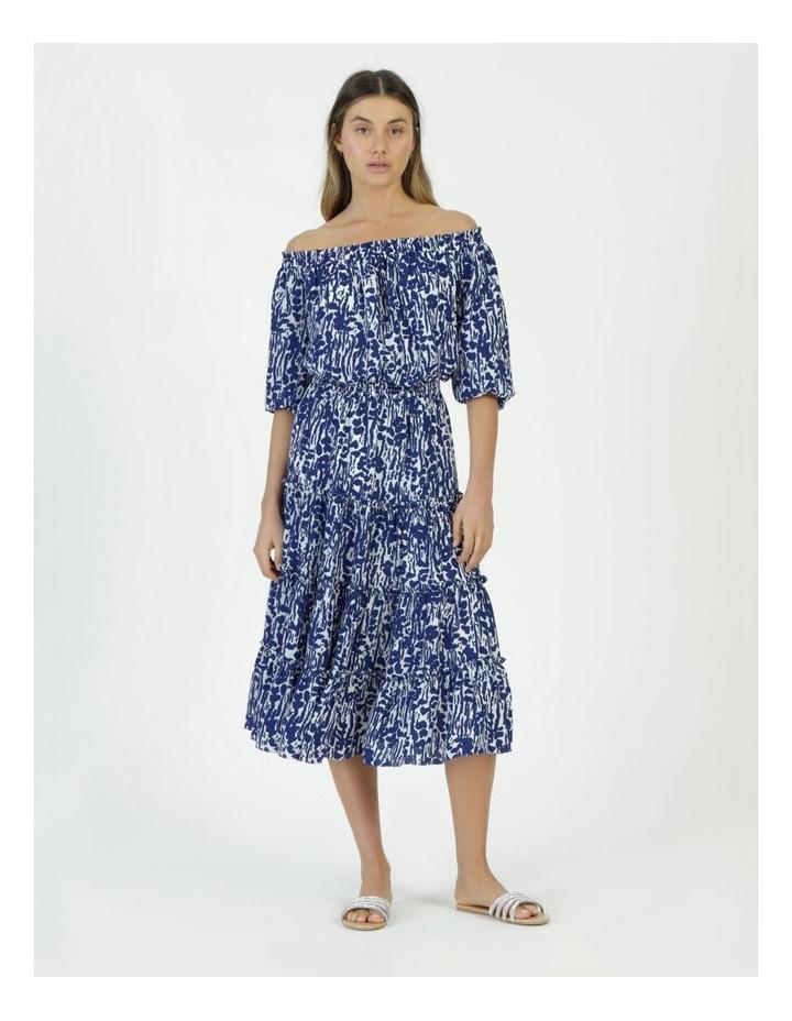 Off The Shoulder Midi Dress image 5