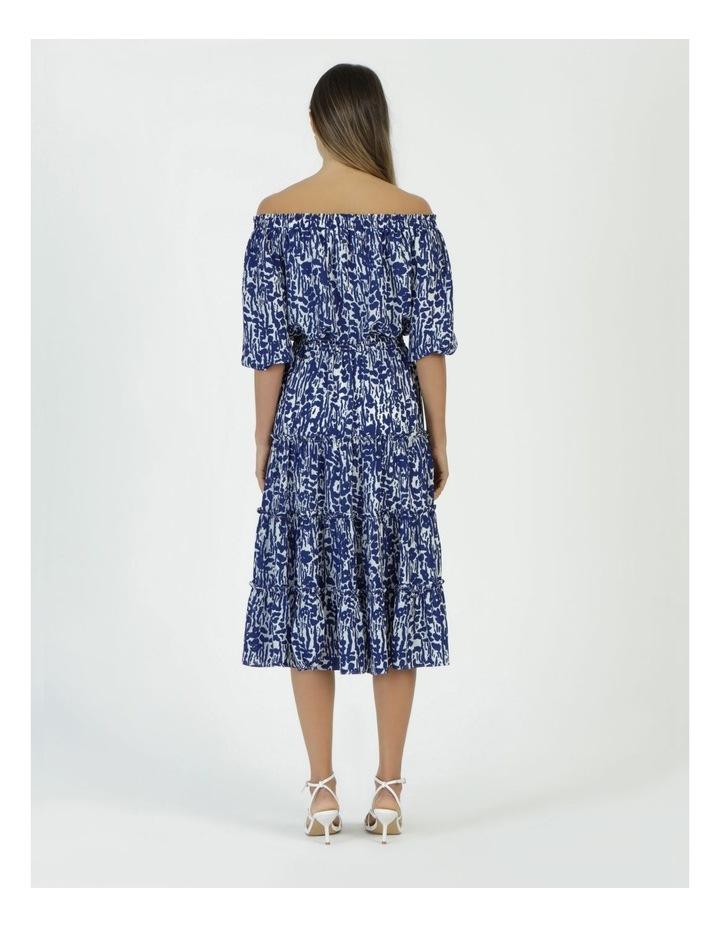 Off The Shoulder Midi Dress image 6