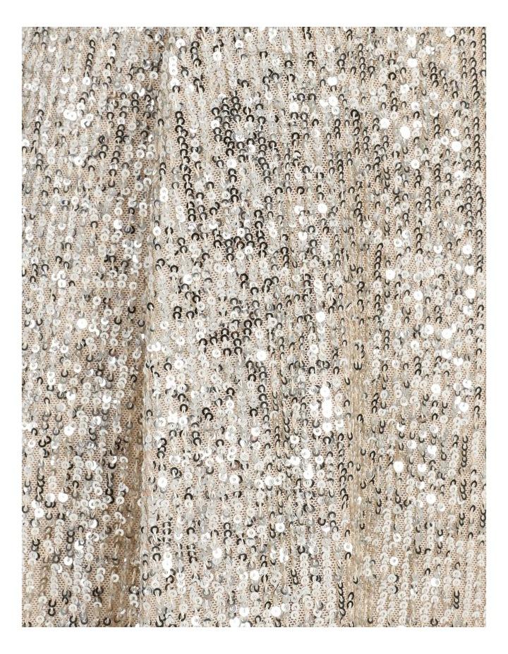 Knot Detail Sequin Midi Dress image 7