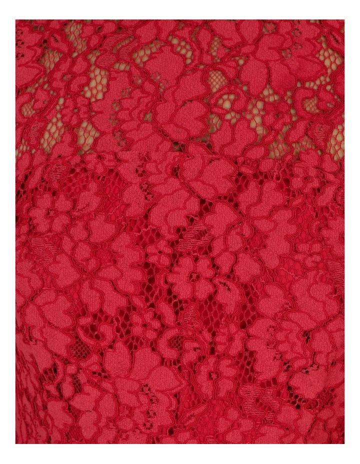 Lace Midi Flounce Dress image 7