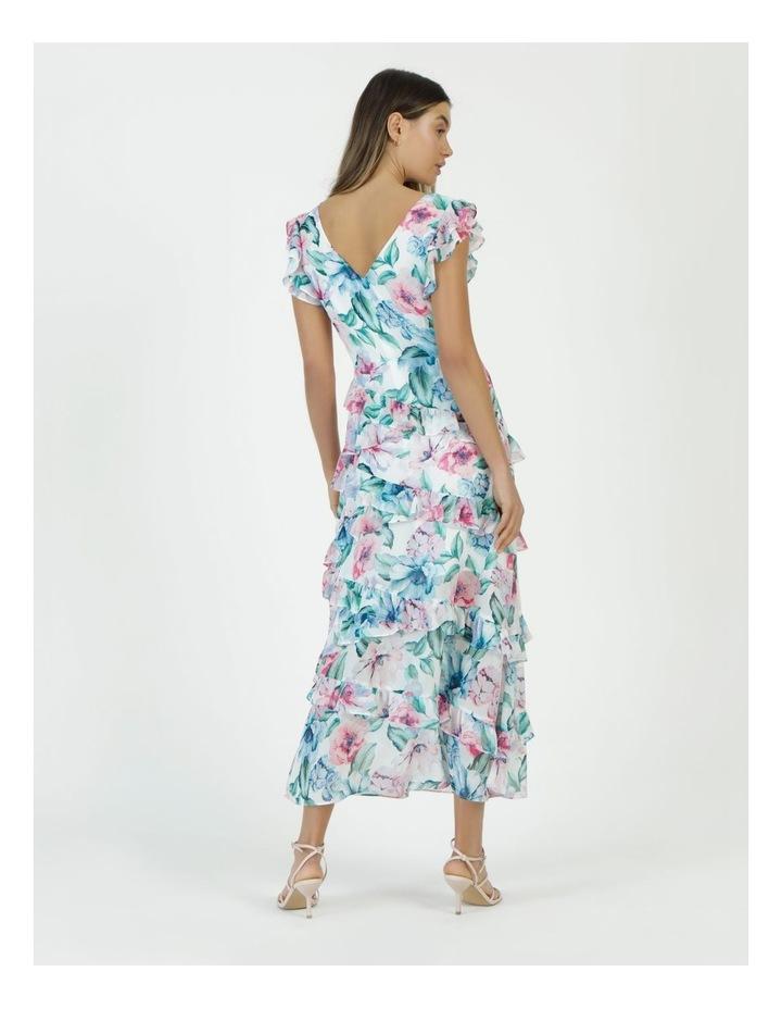 Ruffle Shoulder Maxi Dress image 6