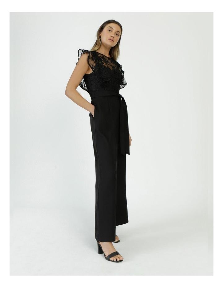 Lace Detail Jumpsuit Black image 1