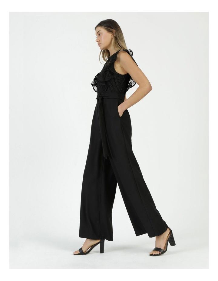 Lace Detail Jumpsuit Black image 2