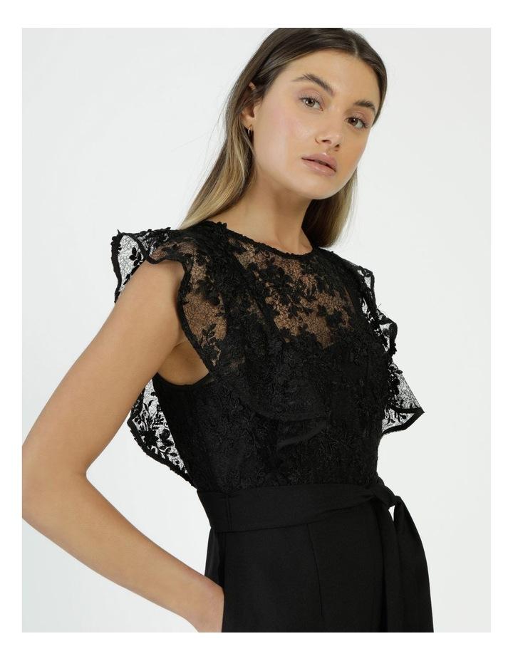 Lace Detail Jumpsuit Black image 4