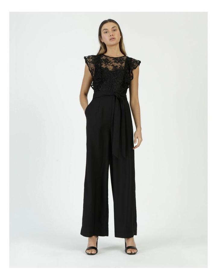 Lace Detail Jumpsuit Black image 5