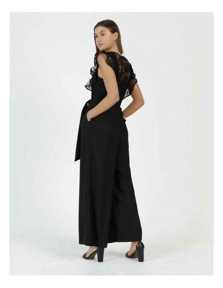 Lace Detail Jumpsuit Black image 6