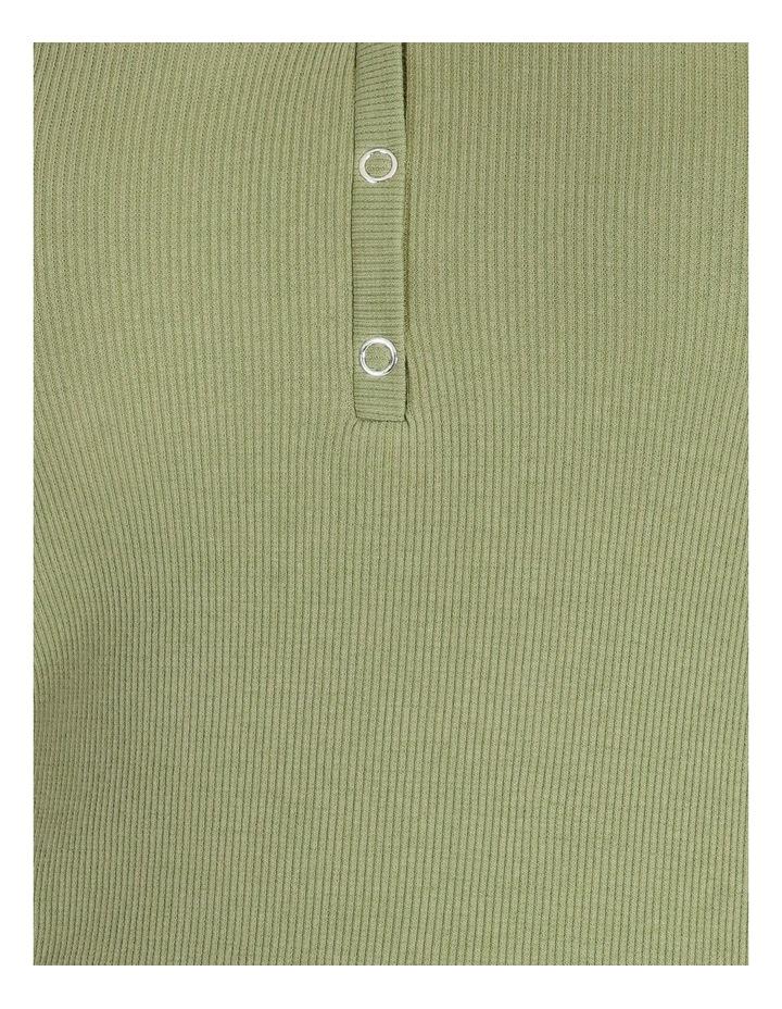 Harriet Long Sleeve V-Neck Button Top image 5