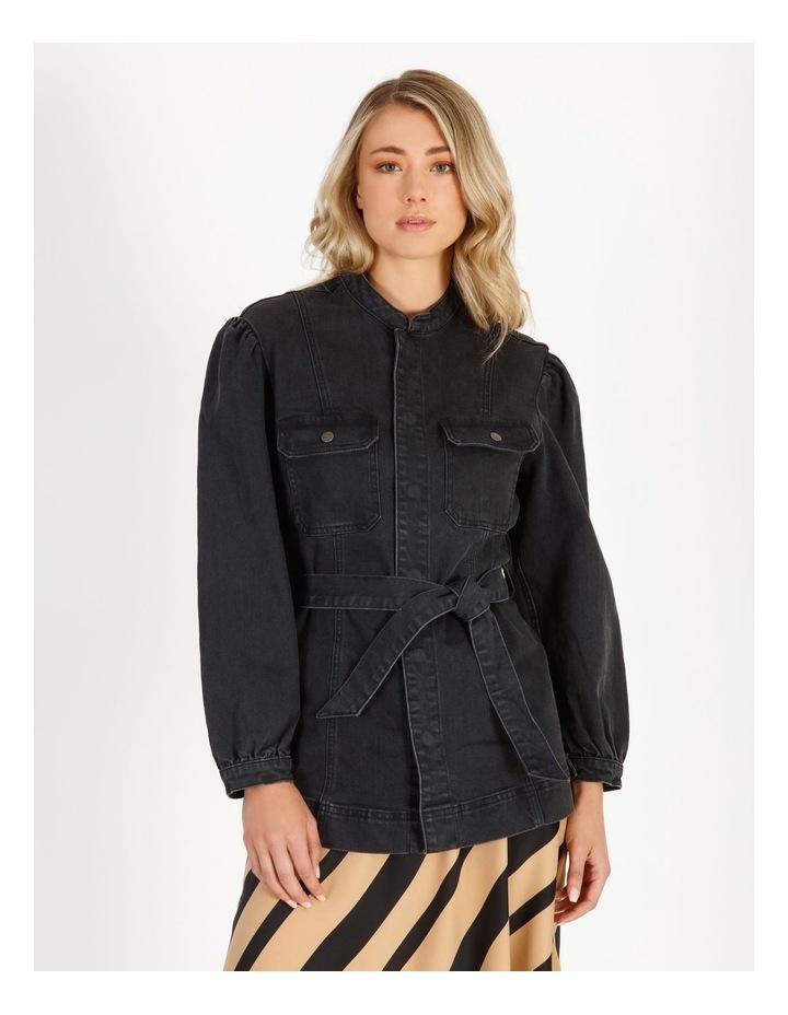 Flavia Belt Denim Jacket image 1