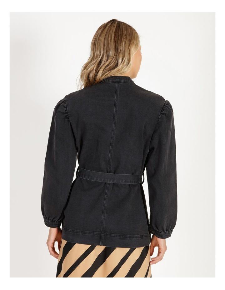 Flavia Belt Denim Jacket image 3