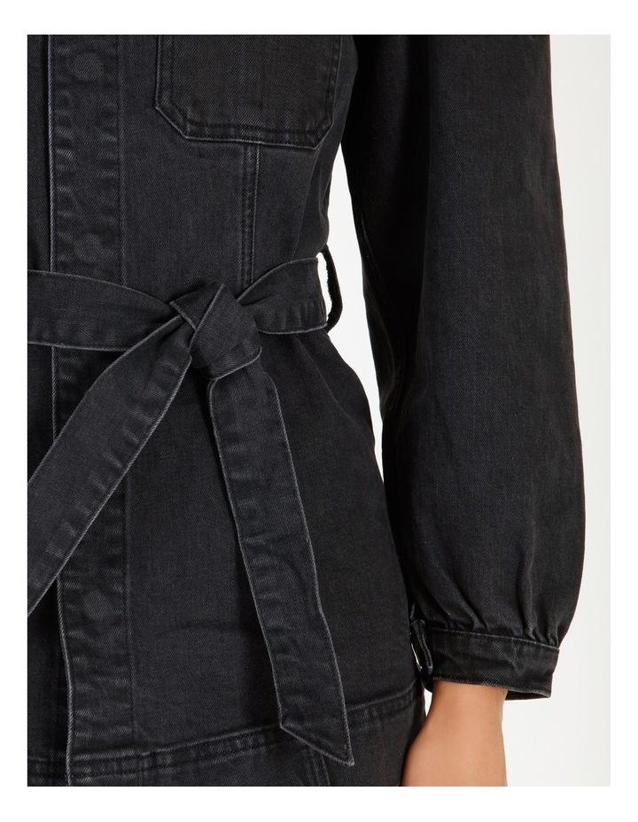 Flavia Belt Denim Jacket image 4