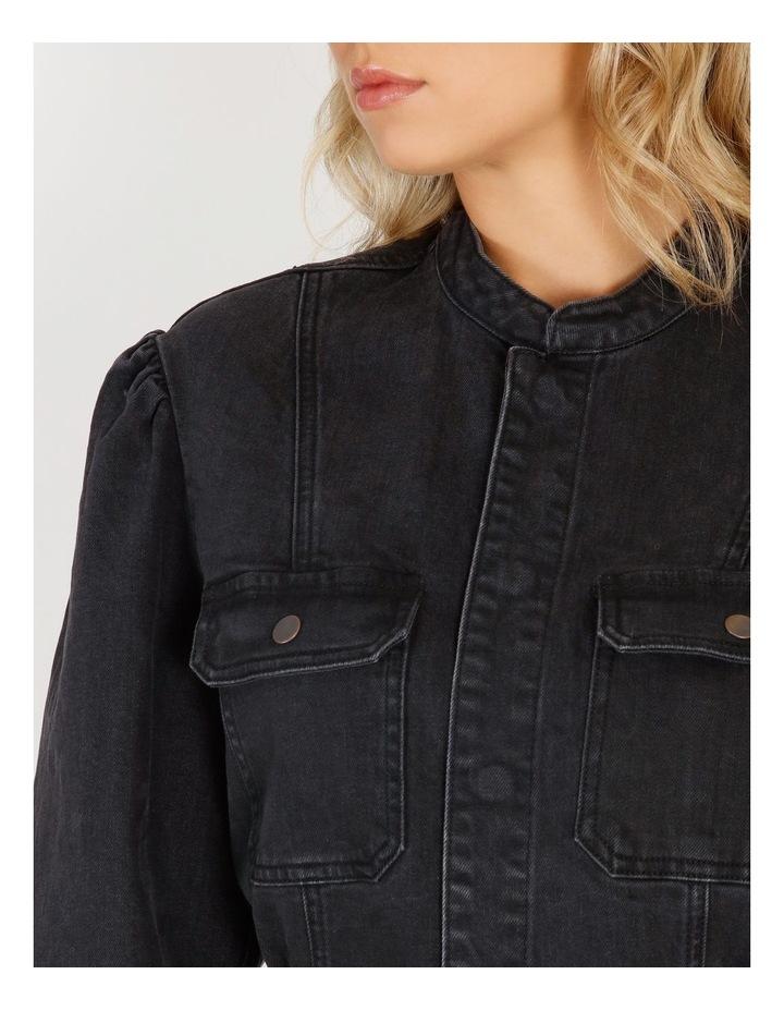 Flavia Belt Denim Jacket image 5