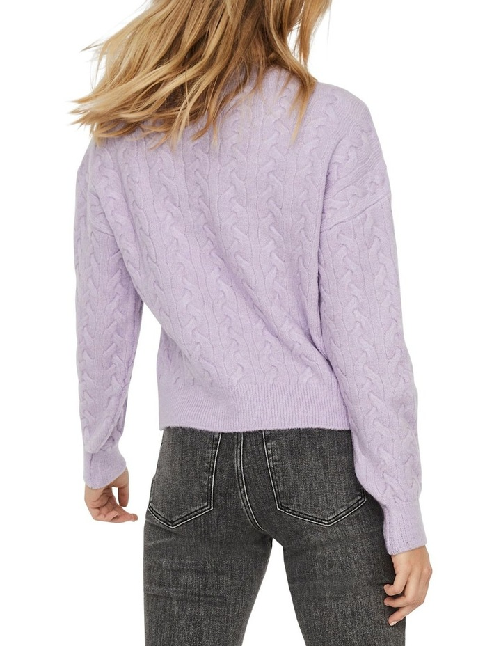 Rosa Cable O-Neck Blouse image 2