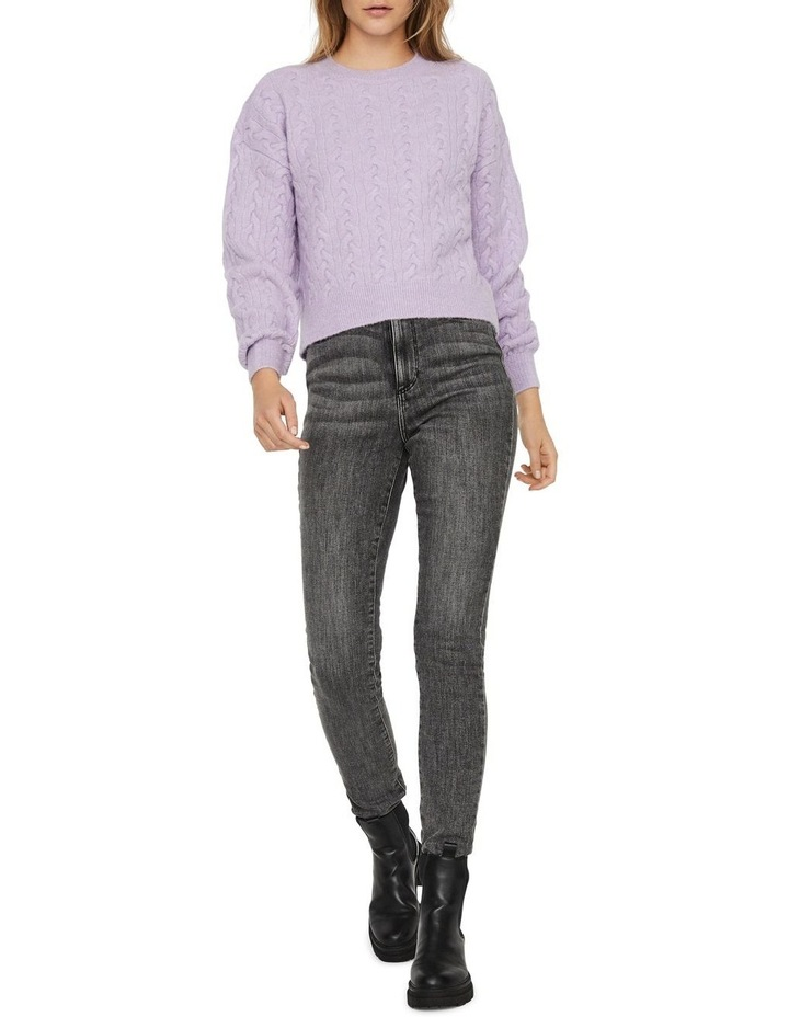 Rosa Cable O-Neck Blouse image 3