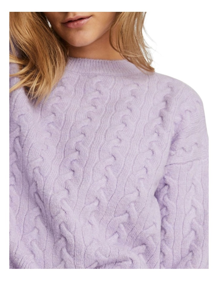 Rosa Cable O-Neck Blouse image 4