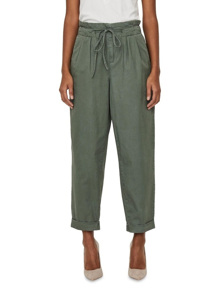 Evany Loose-String Ankle Pants image 1
