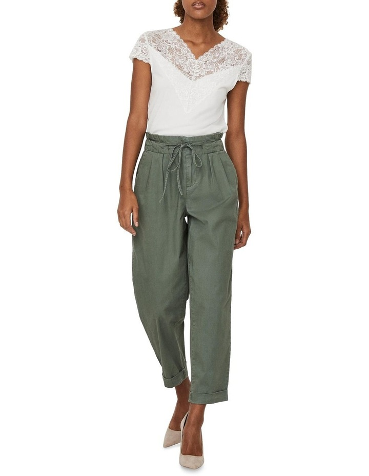 Evany Loose-String Ankle Pants image 4