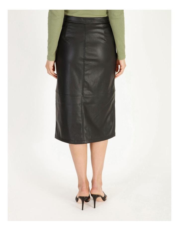 Solanan Coated Calf Skirt image 4