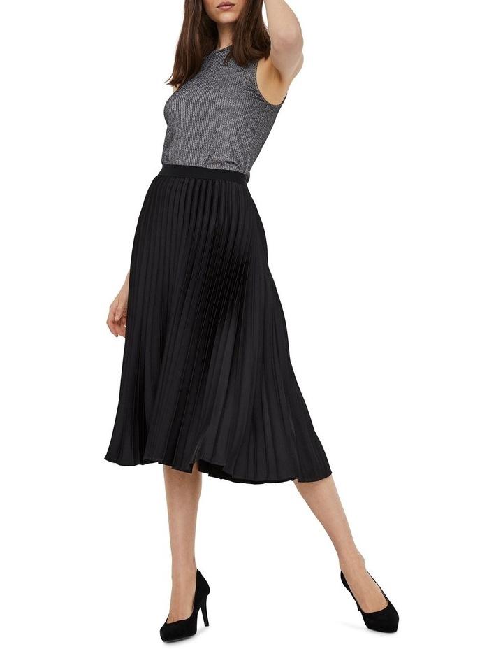 Kendalyn High Waisted Calf Skirt image 3