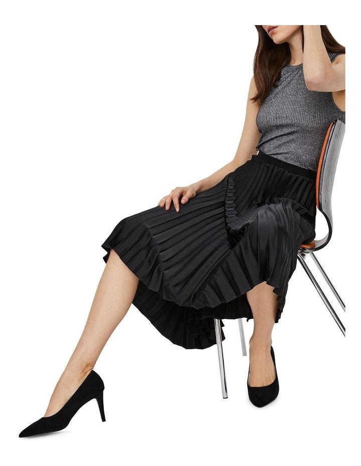 Kendalyn High Waisted Calf Skirt image 4