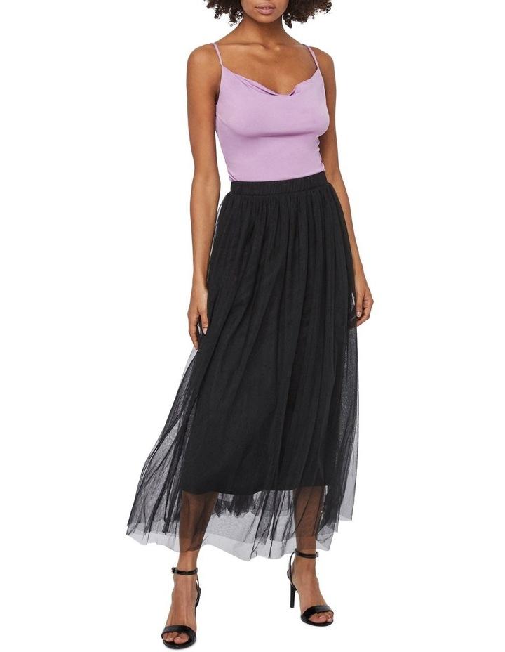 Eve Volume Ankle Mesh Skirt image 3