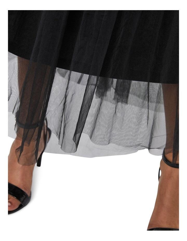 Eve Volume Ankle Mesh Skirt image 4
