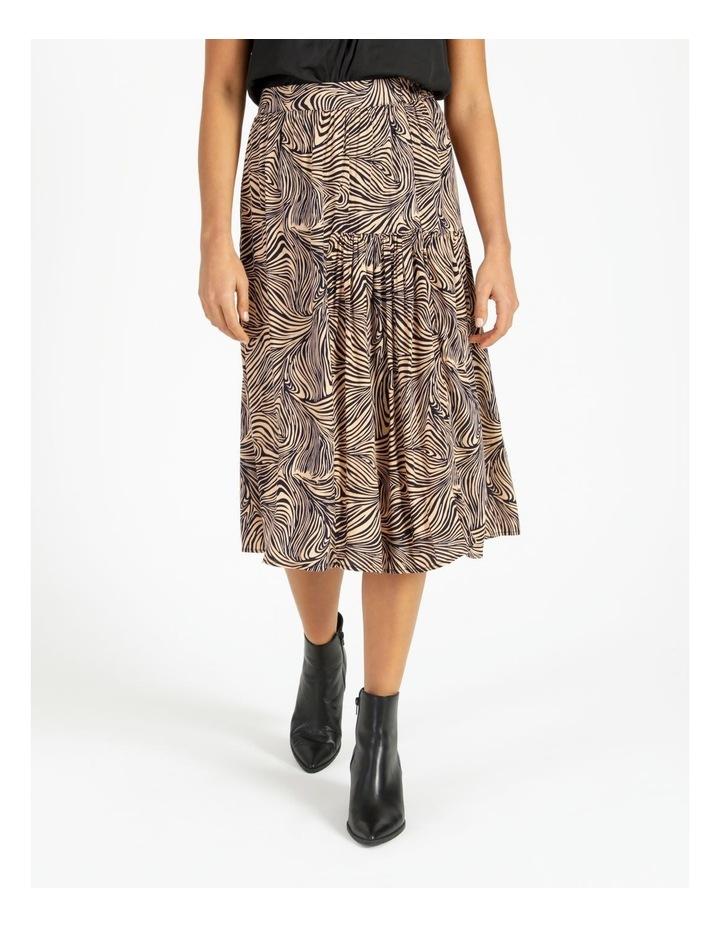 Gea High-Waist Calf Skirt image 1
