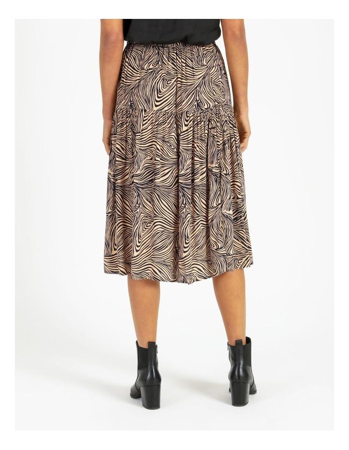 Gea High-Waist Calf Skirt image 2