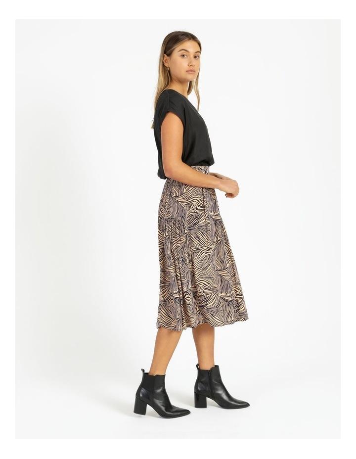 Gea High-Waist Calf Skirt image 3