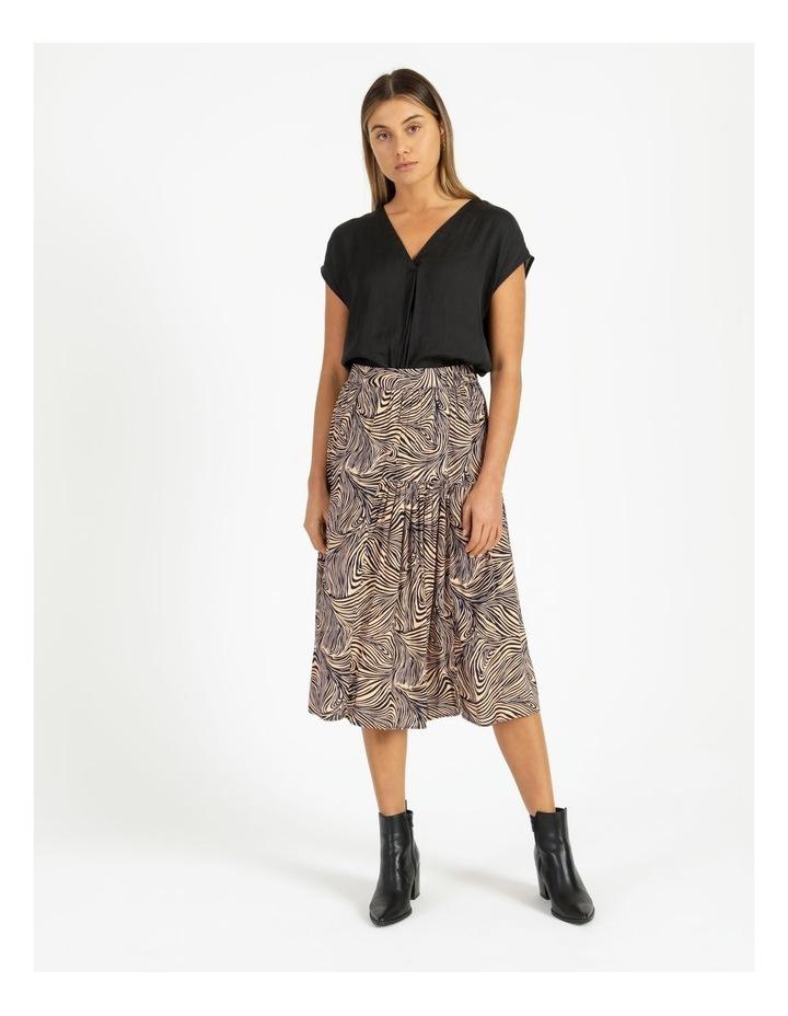 Gea High-Waist Calf Skirt image 4