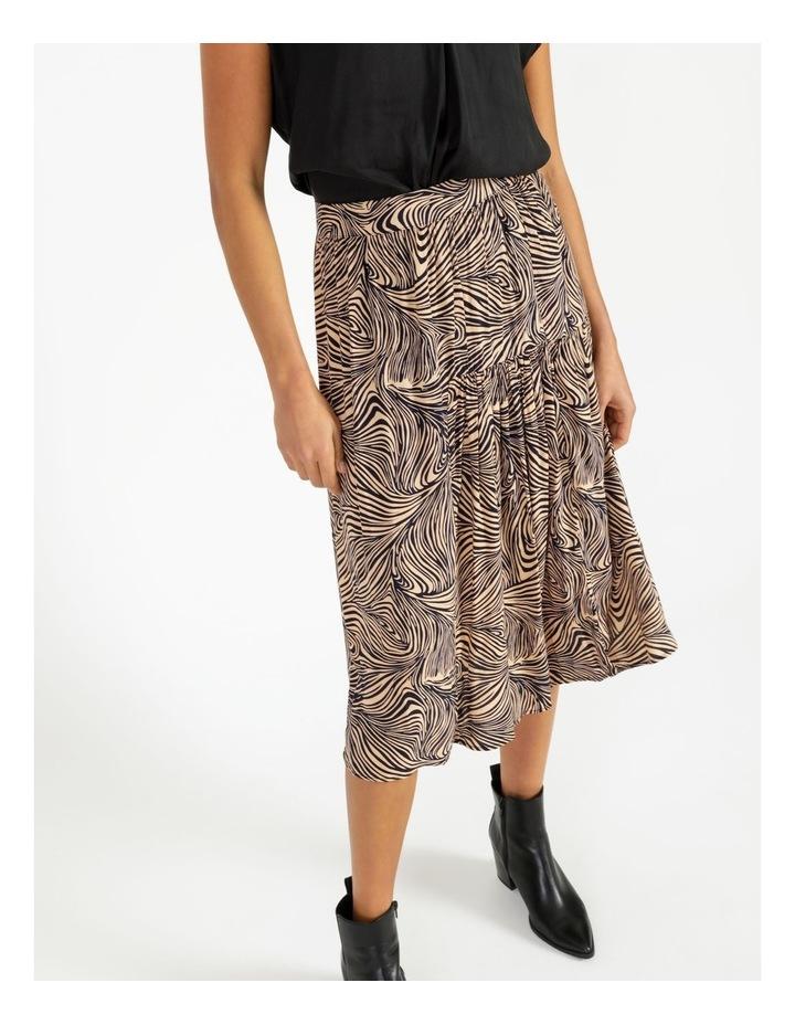 Gea High-Waist Calf Skirt image 5