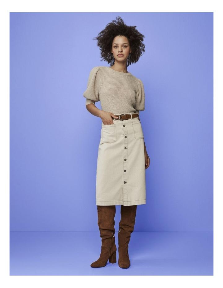 Muna Maxi Denim Skirt image 2