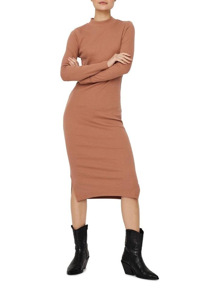 Harriet Long Sleeve High Neck Dress image 3