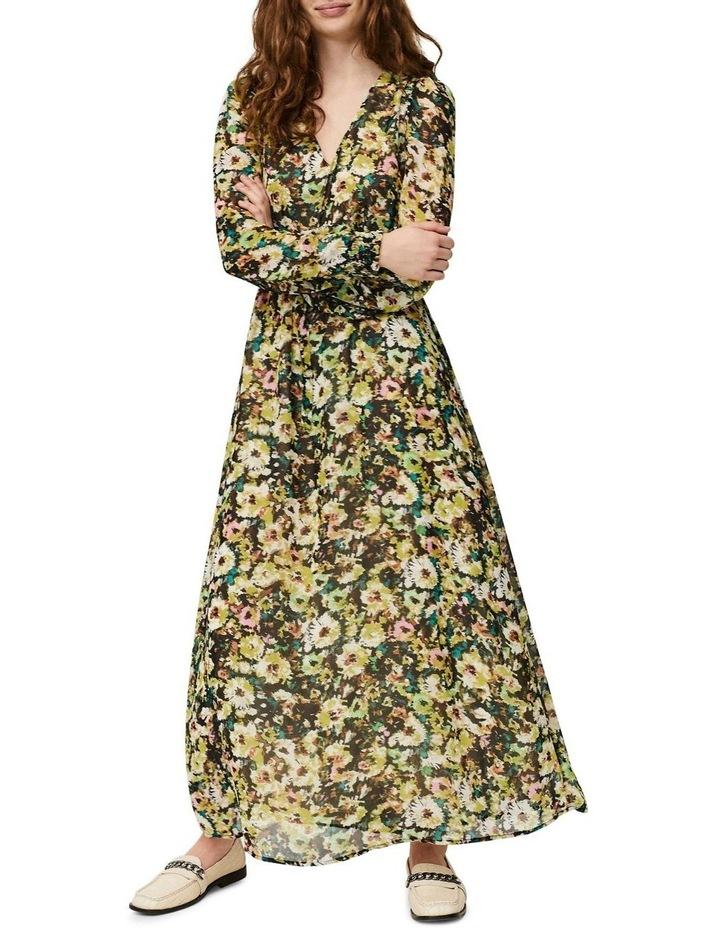 Nilla Long Sleeve Ankle Dress image 1