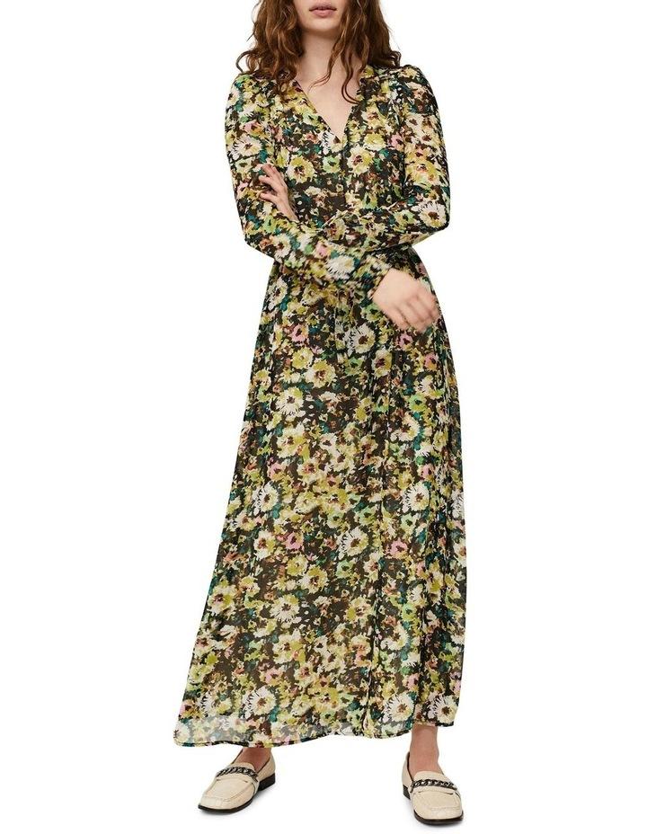 Nilla Long Sleeve Ankle Dress image 2