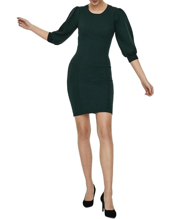 Darma 3/4 Sleeve O-Neck Dress image 1