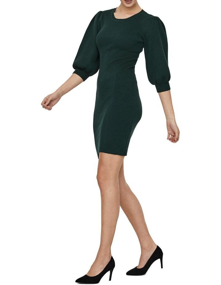 Darma 3/4 Sleeve O-Neck Dress image 2