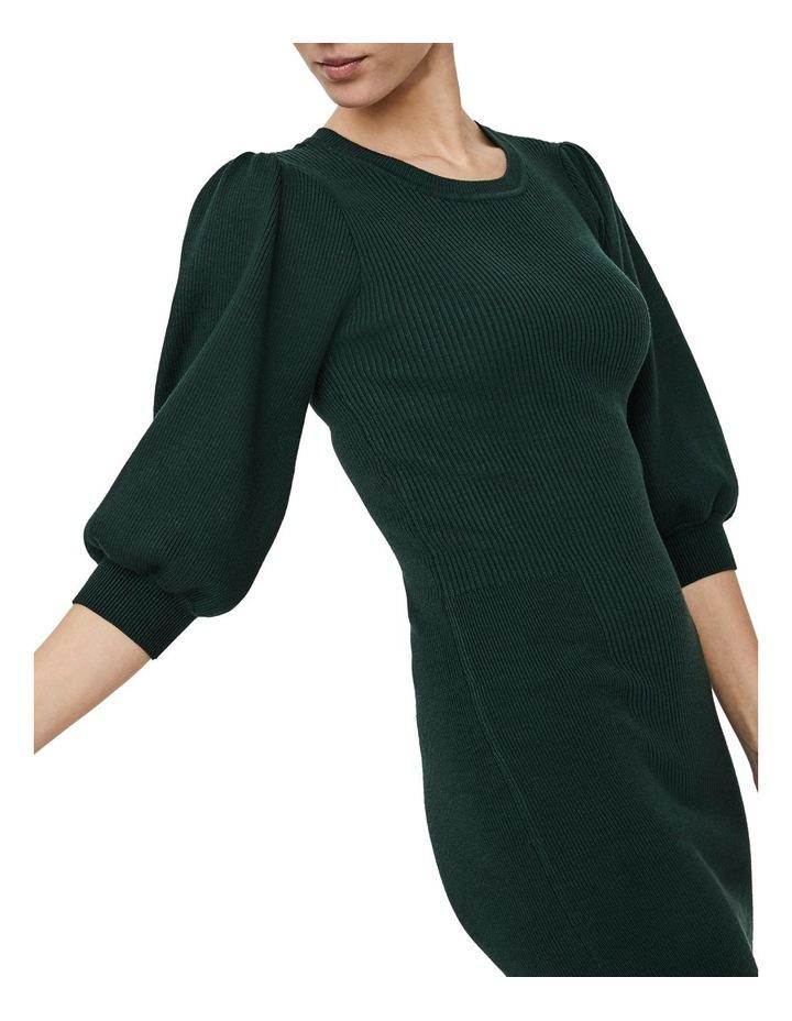 Darma 3/4 Sleeve O-Neck Dress image 3
