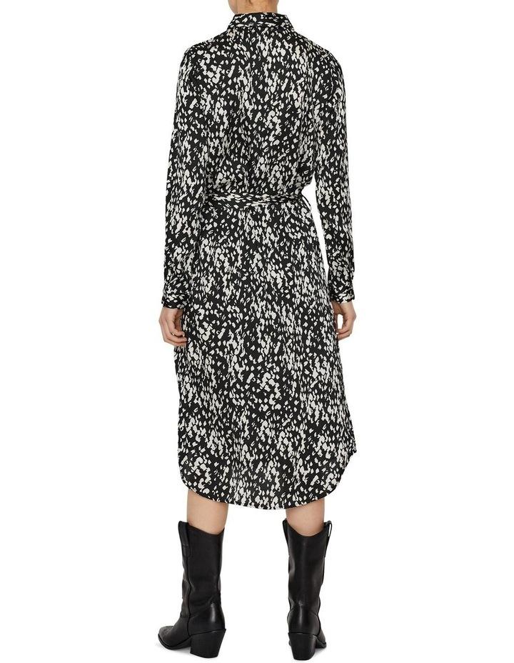 Becky Long Sleeve Shirt Calf Dress image 2
