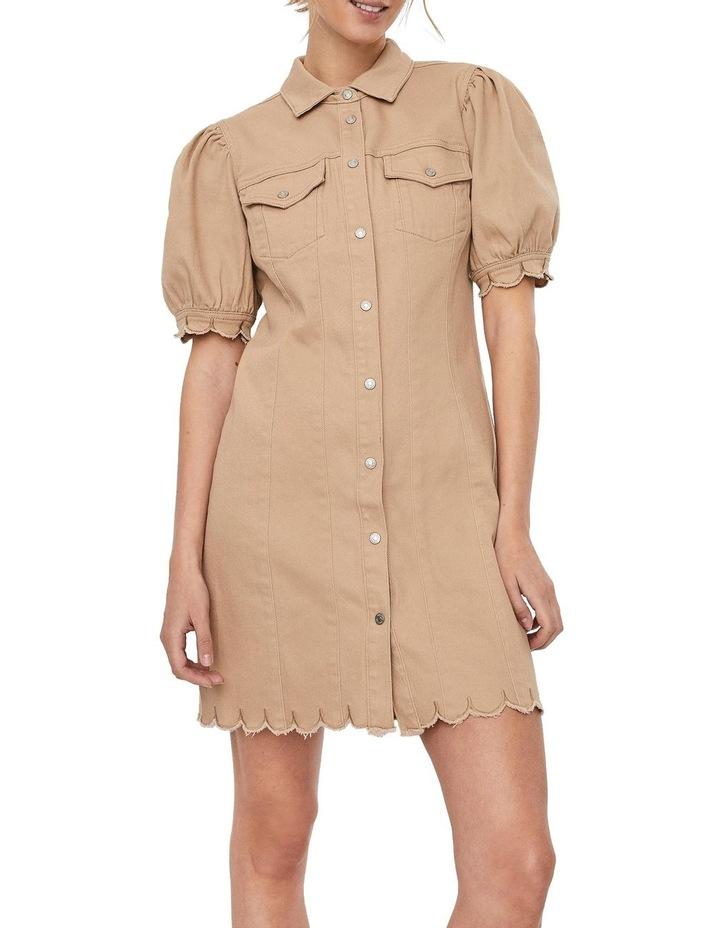Aviis Puff Short-Sleeve Dress image 1