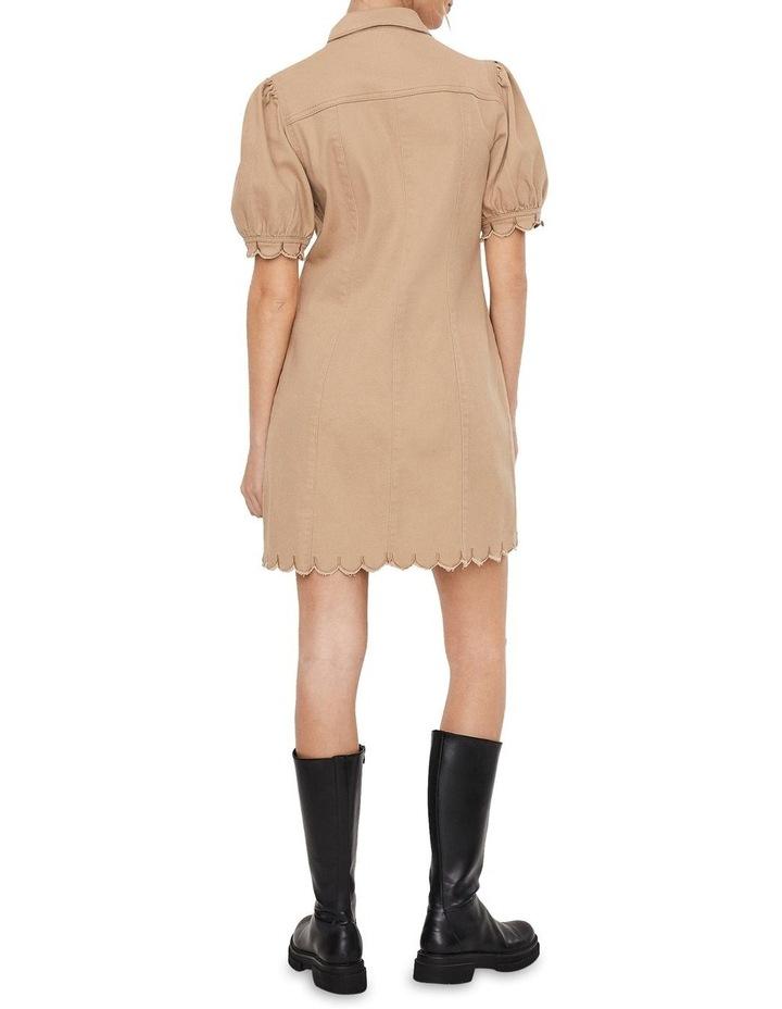 Aviis Puff Short-Sleeve Dress image 2